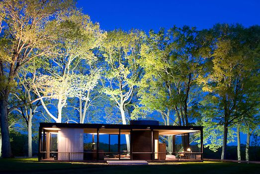 Glass House (1949) - Philip Johnson (Stacy Bass Photography)