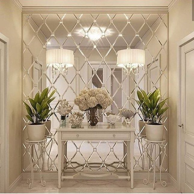 Interior Wall Design Hall Decor, Decorative Wall Mirror For Dining Room