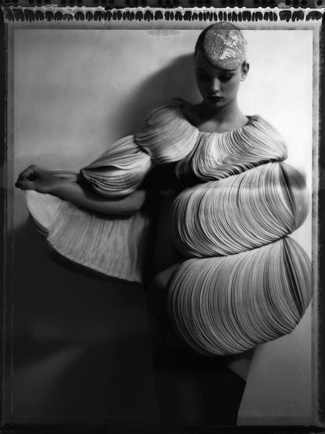 Cathleen Naundorf: Valentino haute couture, Fall/Winter 2007/08.