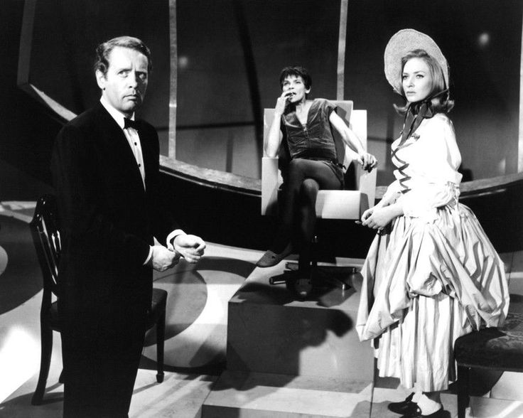 Sixties | Patrick McGoohan, Mary Morris and Norma West in The Prisoner episode, Dance of the Dead, 1967