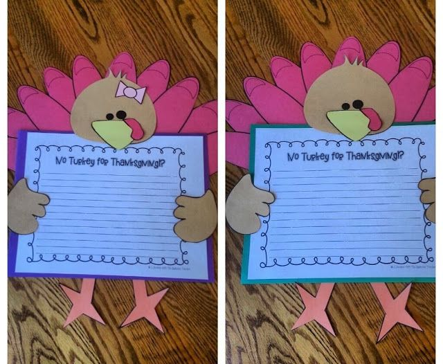"""Perfect writing idea for Thanksgiving! After reading, """"The Night Before Thanksgiving"""" Students write to persuade their families to have something other than turkey for Thanksgiving Dinner! LOVE!"""