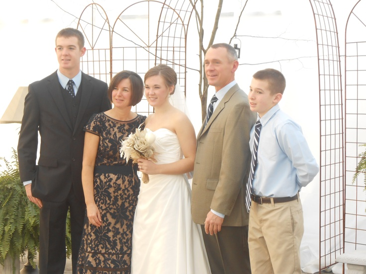 Curtis, Candi, Callie, Keith, and Charlie