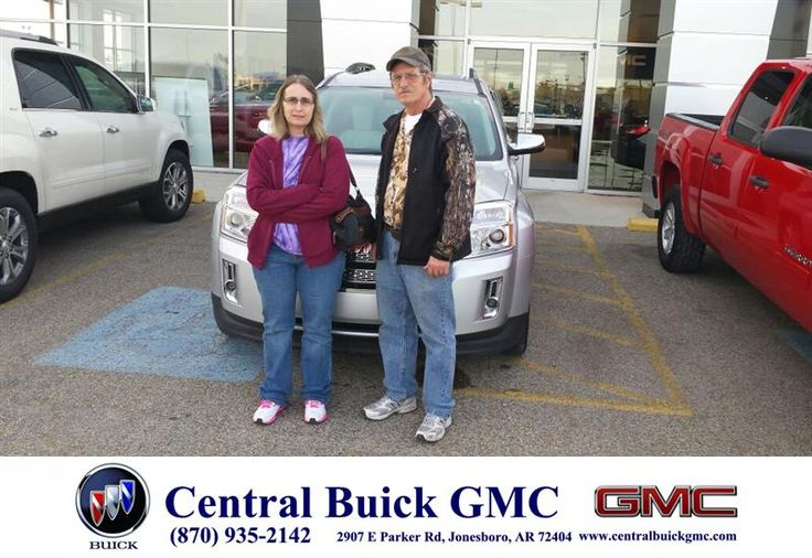 We found a 2010 GMC TERRAIN on the Central Gmc website and we made the trip to look at it. We were surprised how nice it was and we bought it from Salesman Ronnie Nichols. We are very pleased with our purchase and Central and Ronnie were great. Thanks - Everette & Cletha Dejarnette,Wednesday, January 21, 2015  http://www.centralbuickgmc.com/?utm_source=Flickr&utm_medium=DMaxx_Photo&utm_campaign=DeliveryMaxx