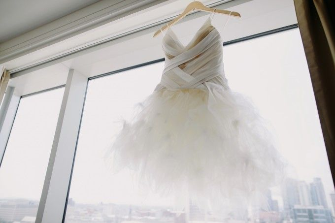 Angelo Lambrou wedding gown -- utter beauty! #cedarwoodweddings Organic Minimalism :: Caprice+Steve | Cedarwood Weddings