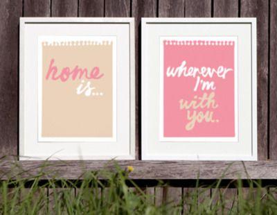 frame any of your favorite lyrics, sayings, etc.