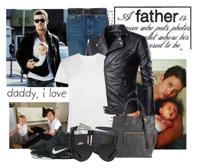 """""""Happy Father's Day!"""" by sophia561 ❤ liked on Polyvore featuring Topman, Tiger of Sweden, NIKE, maurices, Bally, men's fashion and menswear"""