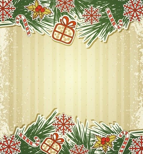 7 best invites images on pinterest xmas christmas cards and free vintage merry christmas invitation card ornaments vector 02 stopboris Choice Image