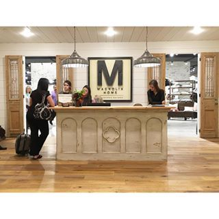 My first stop at High Point Market two weeks ago was to visit the new Magnolia Home furnishings showroom. Products will be available January 2016. Can't wait!