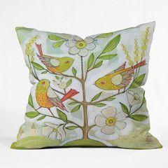 Cori Dantini Community Tree Throw Pillow