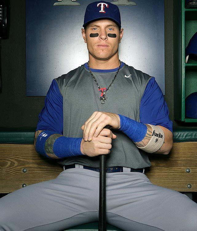 May 2008 texas rangers si 39 s rare photos of josh for Josh hamilton tattoo