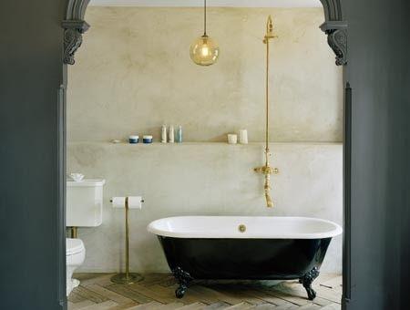 A Bath in Brooklyn by Ken Levinson Architect P.C. at Levinson McDavid Architects http://www.lmarch.com/178garfield.htm