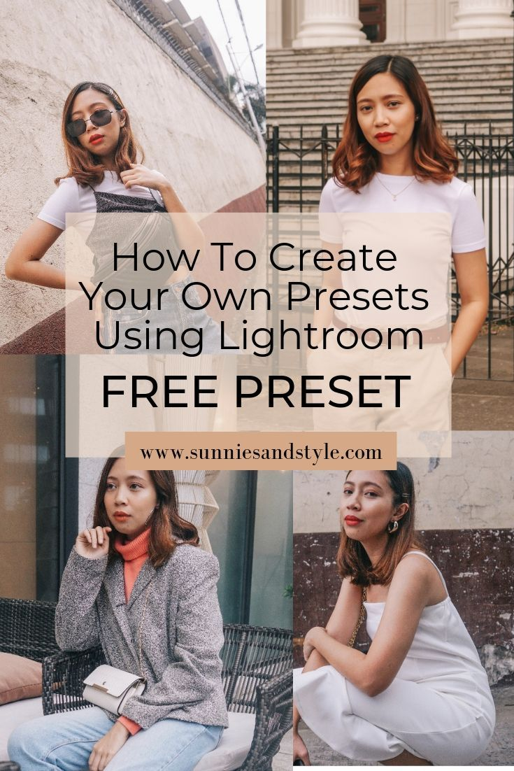 How to create a lightroom preset