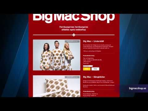The Big Mac Clothing and Home Collection is a Thing Now - YouTube