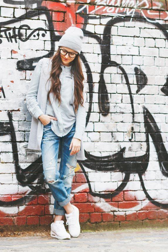 Street fashion photo shoot in London Shoreditch Brick Lane. Urban photo shoot.  …