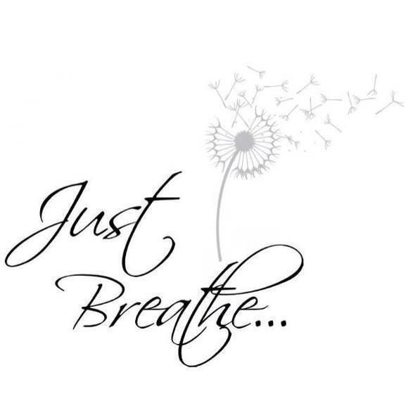 Just Breathe Tattoo Quotes Image Quotes At Hippoquotes Com: Just Breathe- Font For Tattoo