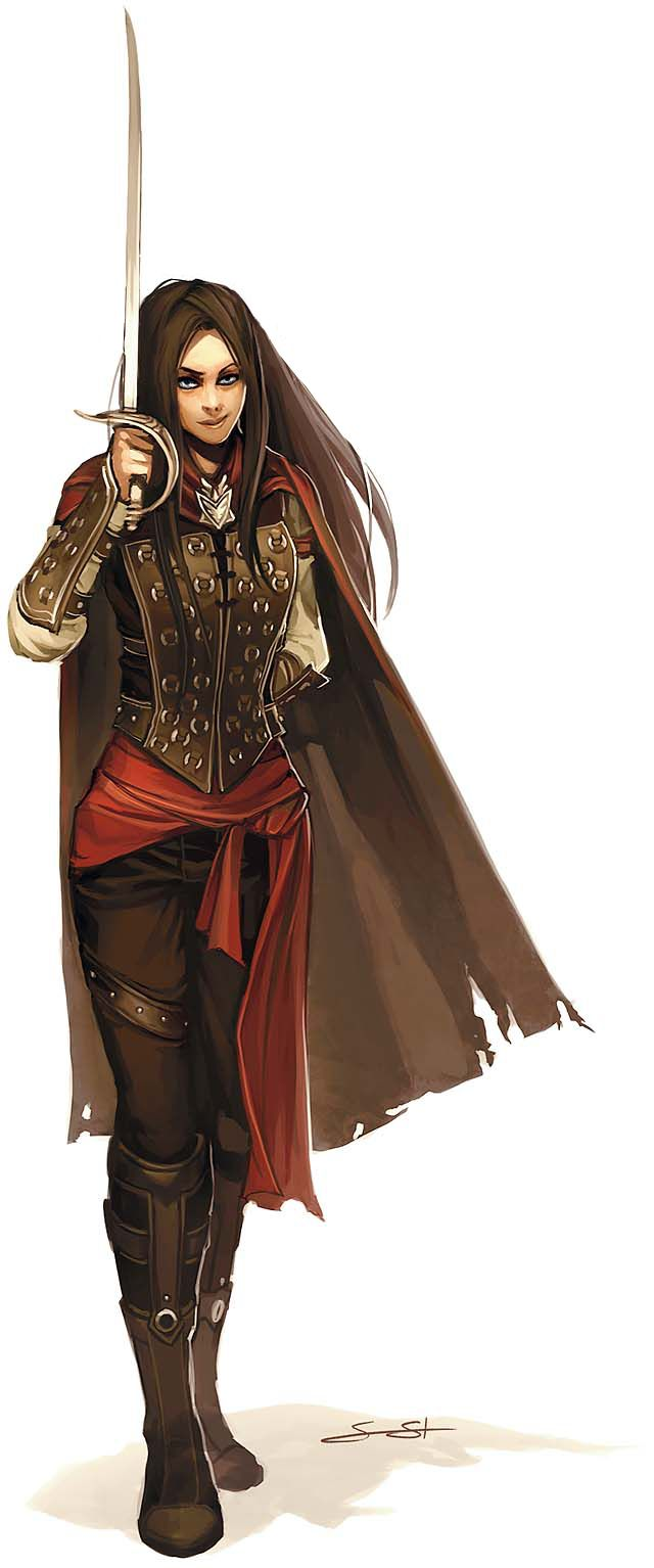 female duelist(the elven bard)