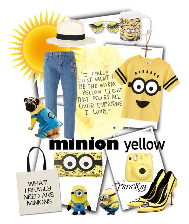 """""""Minions? What Minions?"""" by tarakaypoly ❤ liked on Polyvore"""