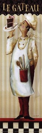 Chef's Masterpiece IV by Lisa Audit art print