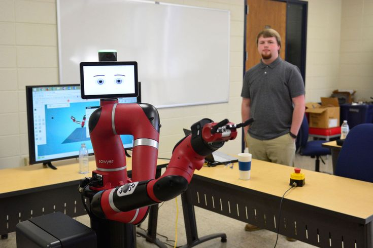 Former coal miners and railroad workers could put their mechanical skills to work by learning about modern manufacturing with the help of a new robot at Bluefield State College's Center for Excellence in Manufacturing Engineering (CEME).