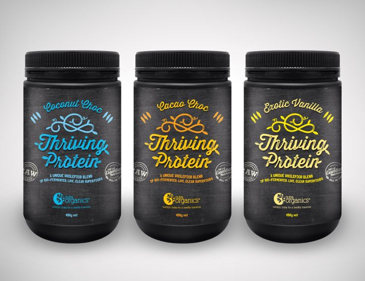 The all new addition to the Nutra Organics family - Thriving Protein, so much more than just a protein a whole food protein for the whole family for more information on the range it is available at www.nutraorganics.com.au