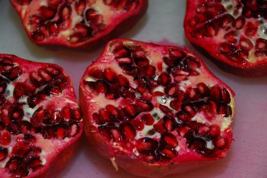 Cranberry-Pomegranate Sauce