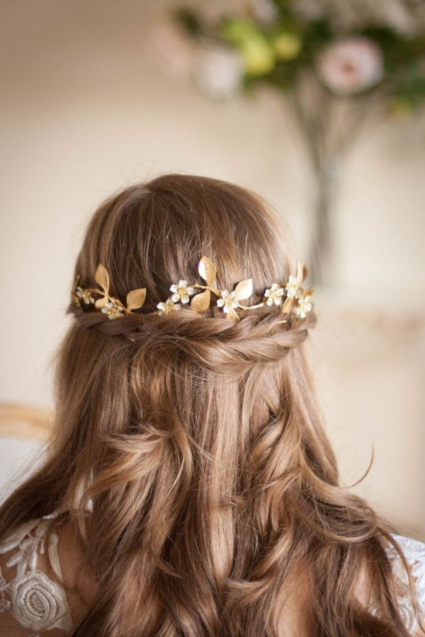 Swooned: Gold Flower Halo