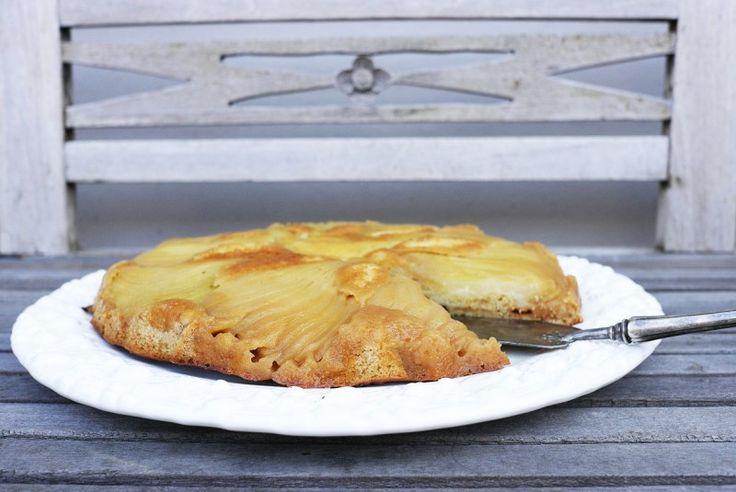 Tatin de poires - Hruškový koláč