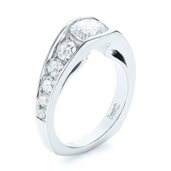 Custom Diamond Engagement Ring #JosephJewelry | Bellevue | Seattle