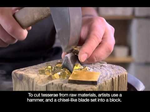 historical how to mosaic LaunchPad: Making Ancient and Byzantine Mosaics - YouTube