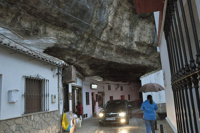 This town has been living under a rock for thousands of years. Literally. Setenil de las Bodegas -   Spain