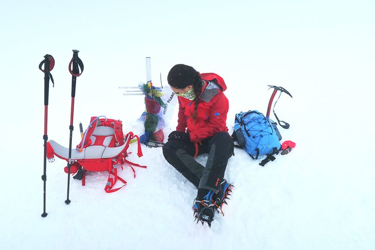 varf mont blanc 4810 m