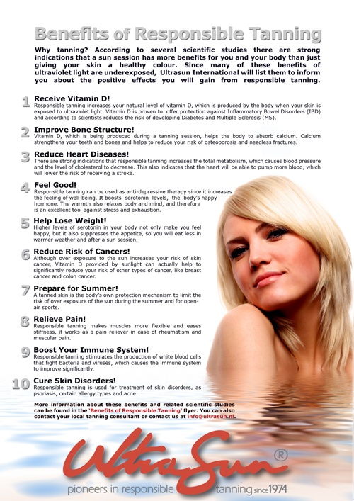 There are actually benefits to tanning ) Benefits of