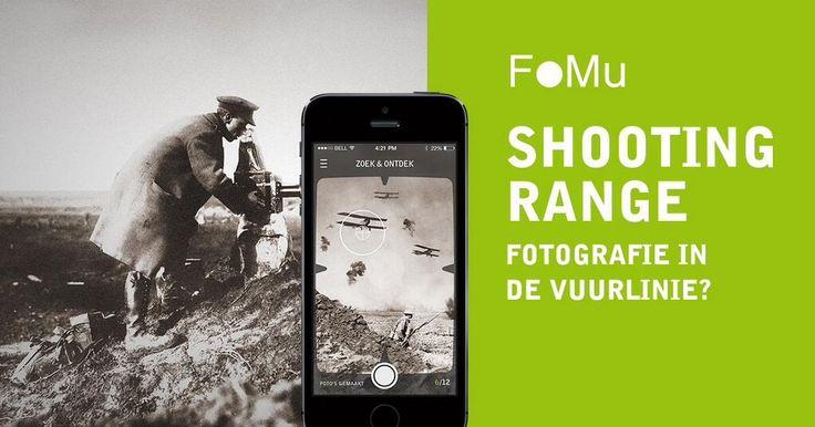 Kijk door de lens van een WO1 fotograaf en stap in de vuurlinie! http://shootingrange.be