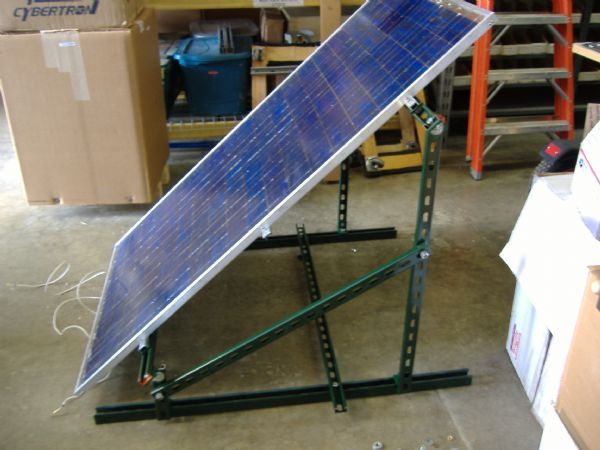 DIY Solar Panels - Scalable Mounting System
