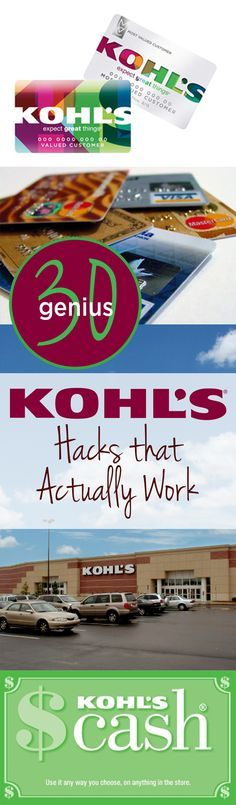 Kohls hacks, shopping, shopping hacks, popular pin, Kohls shopping hacks, saving money, save money shopping.