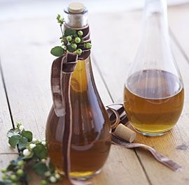 Homemade Aquavit--Flavored vodkas may be all the rage with the chocolate martini set, but aquavit—a traditional, spice-infused spirit from Scandinavia—is a far more sophisticated tipple with notes of fennel, caraway, and coriander.