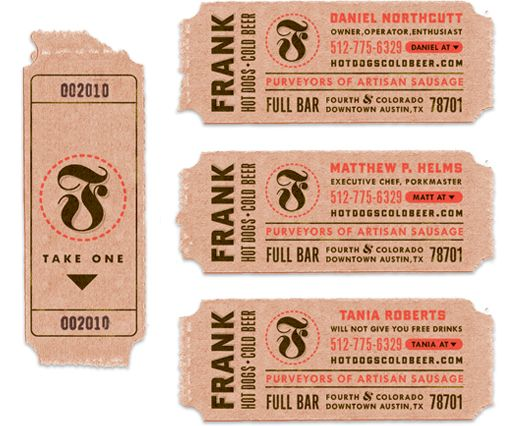 Frank Restaurant & Deli-Grocery : Logotype and Business Cards | The Decoder Ring Design Concern