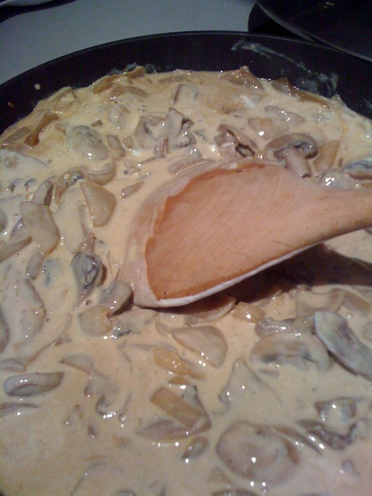 Slimming World Creamy mushroom sauce for pasta