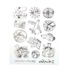 1PCS /LOT Cute Design Silicone Transparent Stamp  For DIY Scrapbooking/Card…