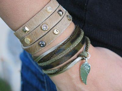 Bracelets : Bracelet Angel's camouflage By Garance et Brooklin www.bijouxflorenza.com