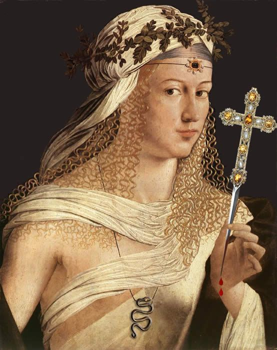 Lucrezia Borgia  Following her divorce from Sforza, Lucrezia was married to the Neapolitan Alfonso of Aragon, the half-brother of Sancha of Aragon who was the wife of Lucrezia's brother Gioffre Borgia. The marriage was a short one, lasting from 1498 until Alfonso's murder in 1500. It is widely rumored that Lucrezia's brother Cesare was responsible for Alfonso's death