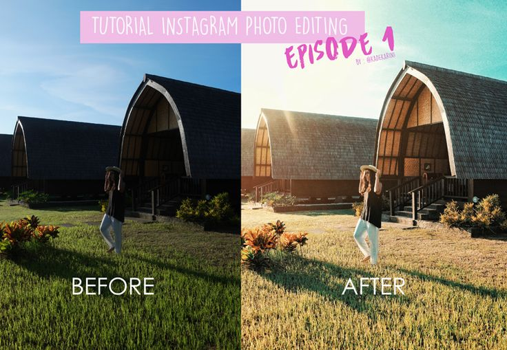 Tutorial Instagram Photo Editing for Dark photo to Bright Photo (Eps 1)