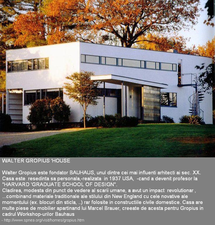 ! iconic ... Walter Gropius #pregatire admitere arhitectura  - SchepsisțPregArhi +40744750227