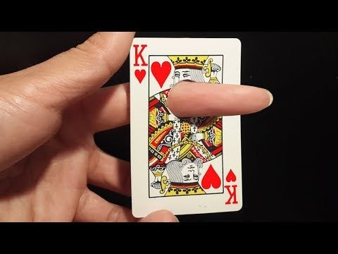 Finger Through Card - Awesome Magic Card Trick To Impress Anyone - YouTube