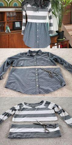 Дайте квадратные свитера и рубашки женский силуэт   eHow ремесла   eHow:
