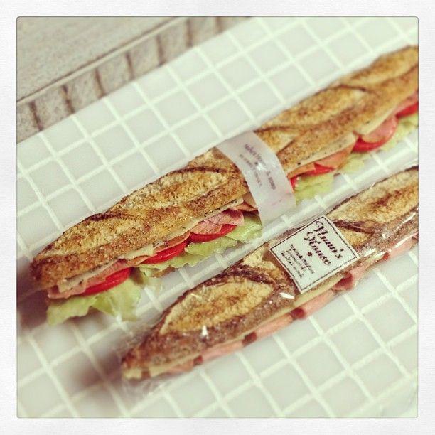 Nunu's House Baguette Sandwiches