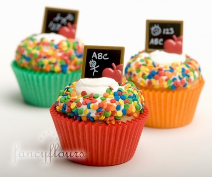 back to school cupcakes#Repin By:Pinterest++ for iPad#
