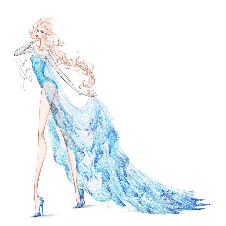 Collection Chiffon Elsa 2 by frozen-winter-prince.deviantart.com on @deviantART