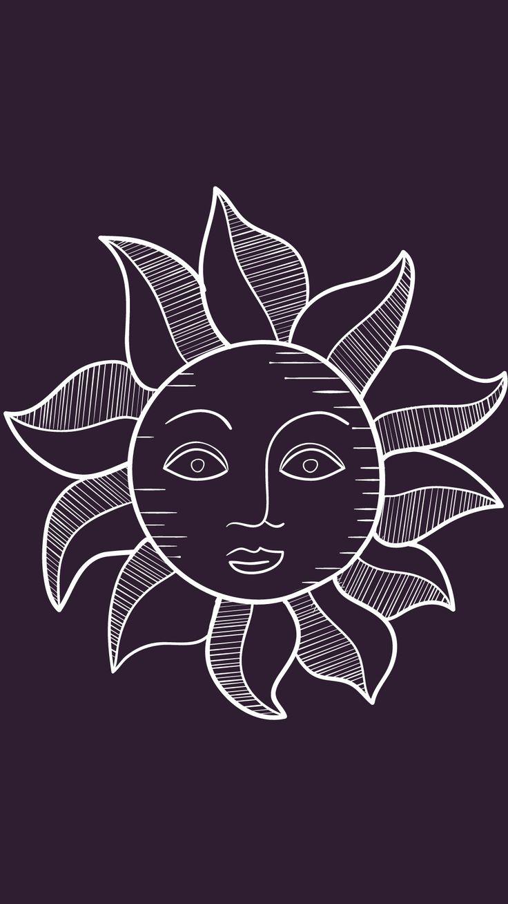 Wallpaper / lockscreen / sun