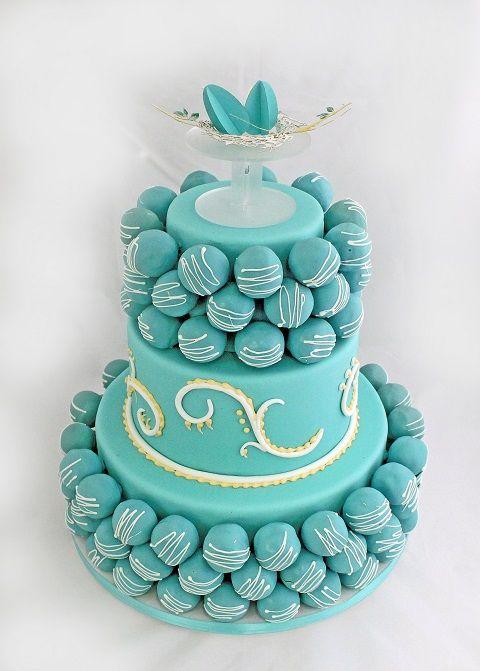 we ❤ this! itsabrideslife.com #cakepopweddingcake